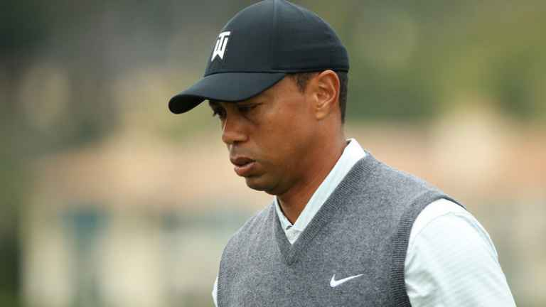 Tiger Woods suffers yet more neck and back pain at US Open