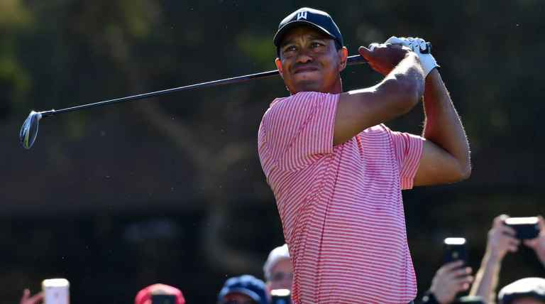 Tiger Woods breaks his Sunday Nike shirt tradition at Torrey Pines