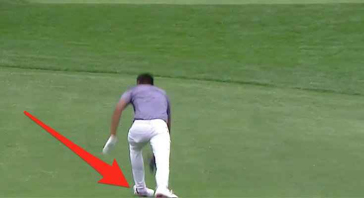 Masters: Finau makes ace, snaps ankle in celebration, pops it back in place!