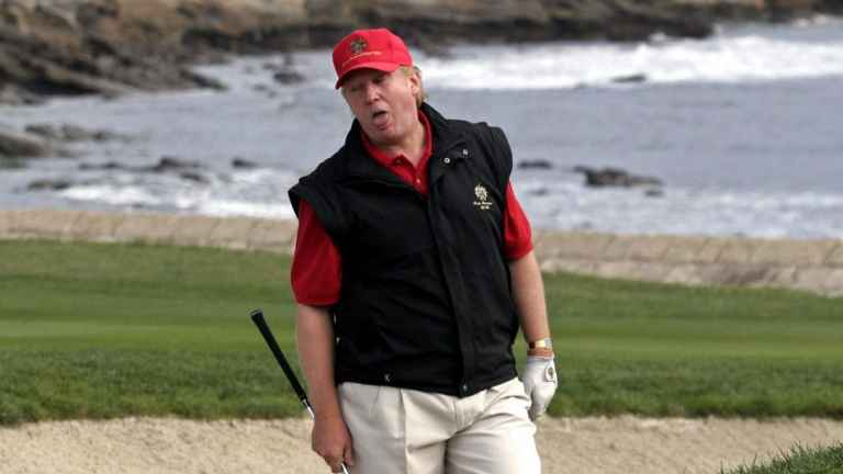 Donald Trump cheats on golf course against 10-year-old, claims report