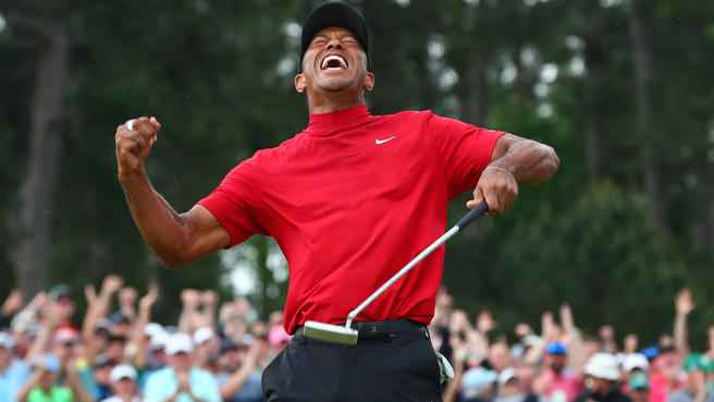 Tiger Woods is testing a new TaylorMade putter, but it looks BIZARRE!