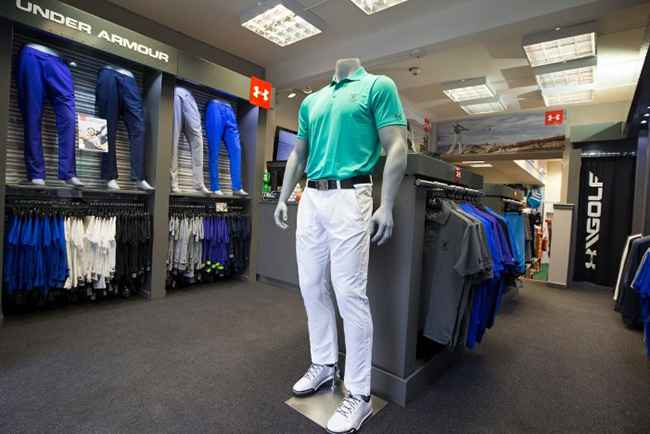 Under Armour opens St Andrews shop