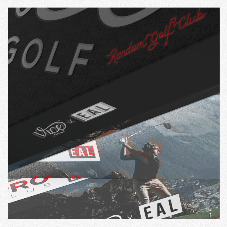 Vice Golf x Erik Anders Lang: Limited Golf Ball Edition