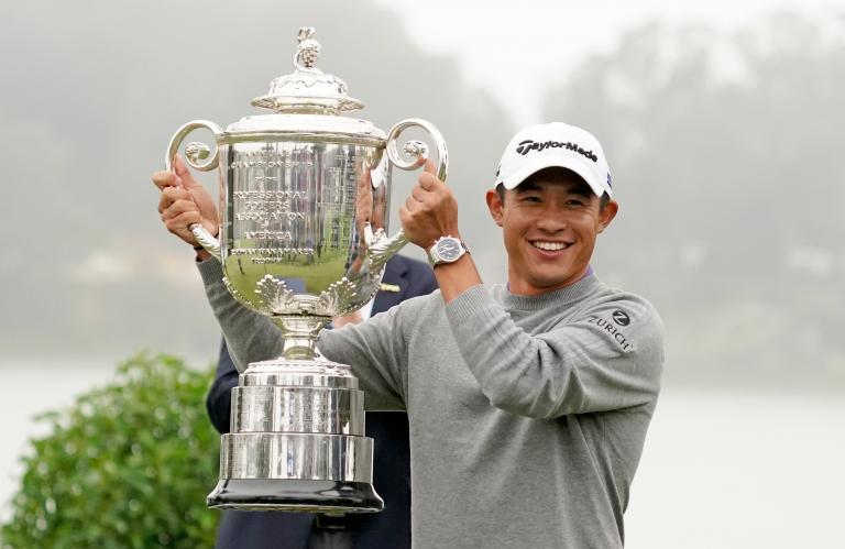 collin morikawa: in the bag of the pga champion