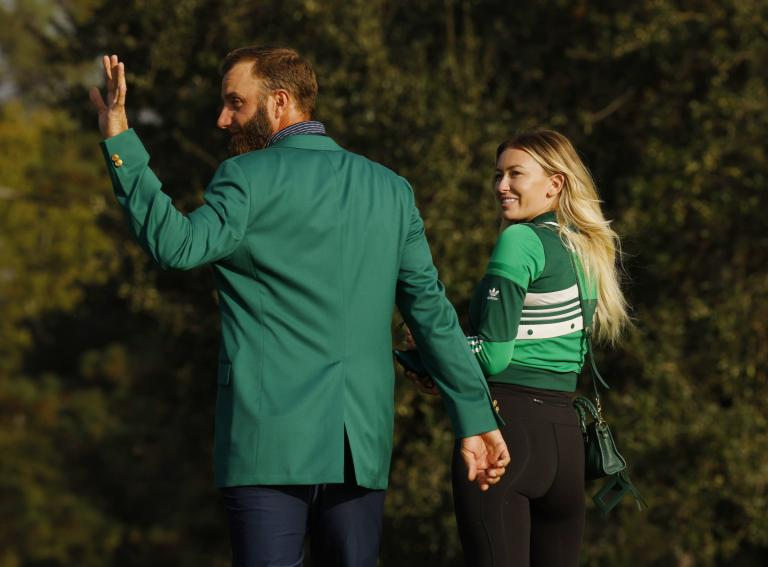Dustin Johnson withdraws from Mayakoba event to spend more time with Paulina