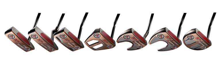 TaylorMade announces TP Patina putter collection