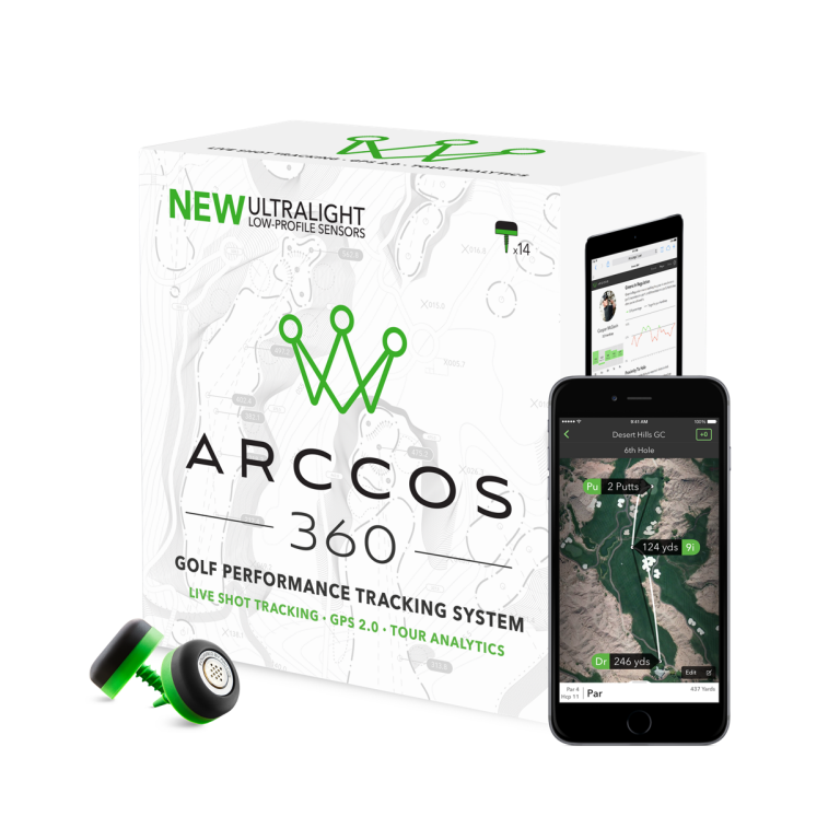 Arccos 360 golf performance tracker review