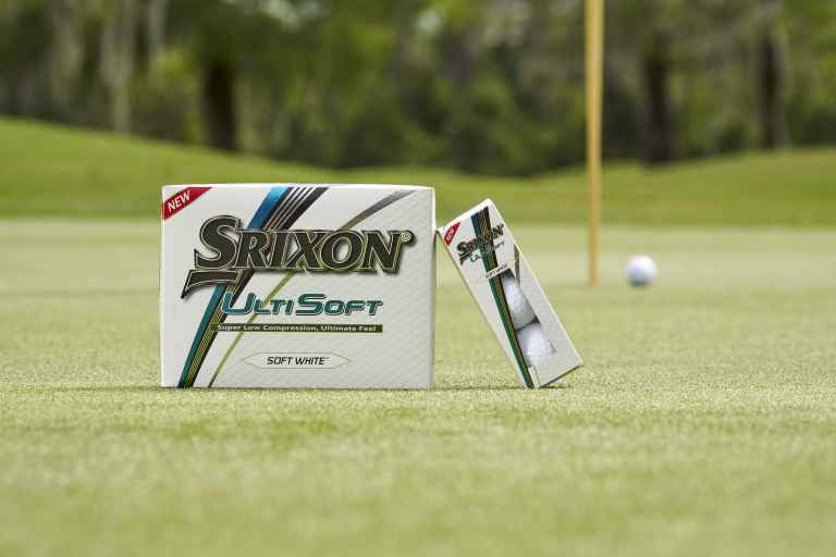 Srixon launch UltiSoft and Soft Feel golf balls