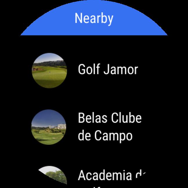 Hole19 courses