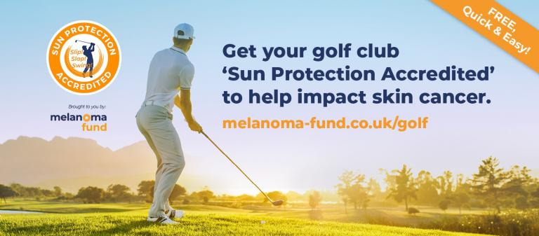 The campaign slapping sun protection on golf