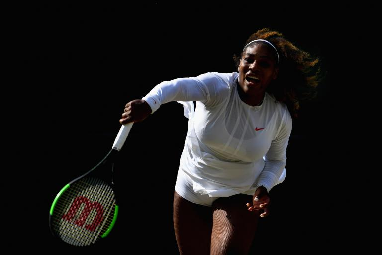 Woods expecting call from Serena Williams after Open near miss