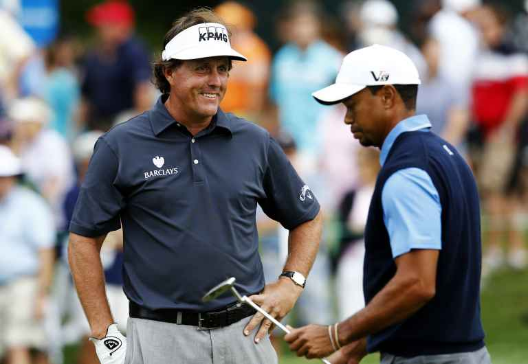 Tiger Woods v Phil Mickelson: Who has played better when grouped together?