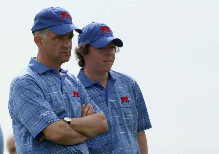 Azinger: 'pudgy Rory never got hurt'