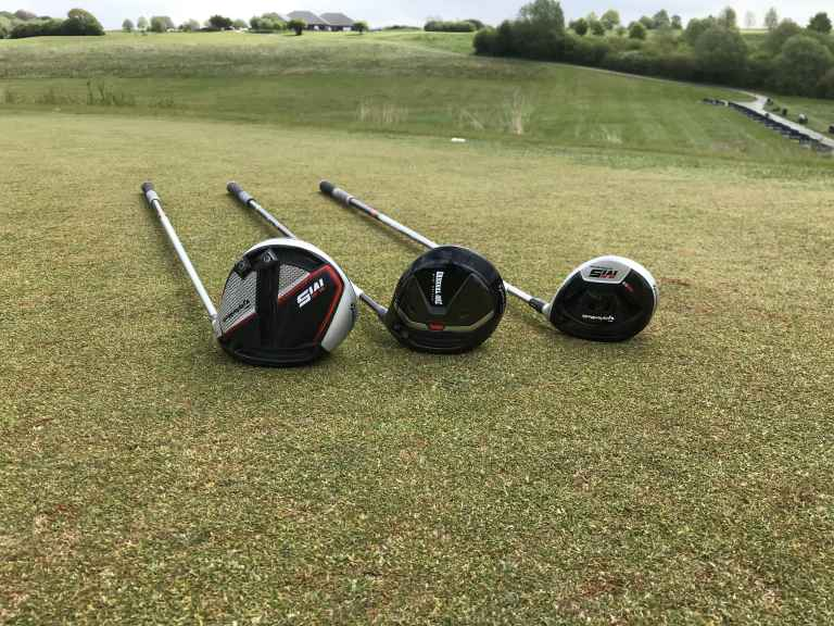 Mini Driver with M5 driver and 3 wood