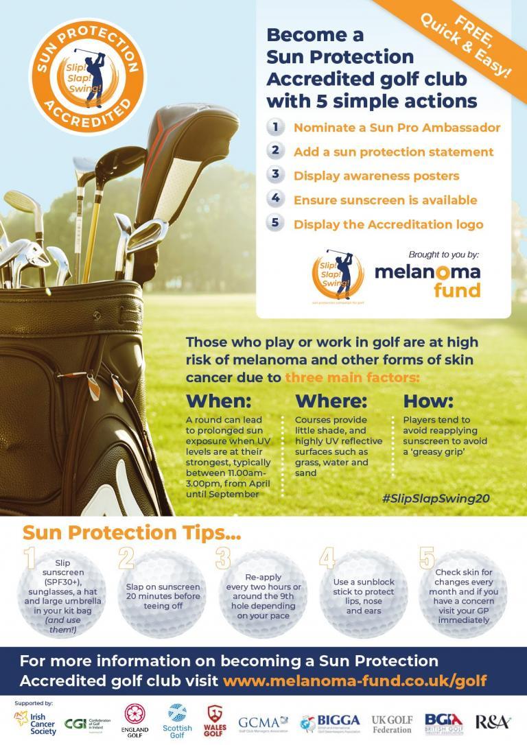 Glendale Golf helps Slip! Slap! Swing! over the 200 club target