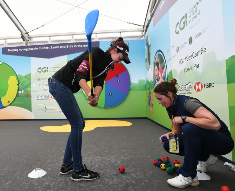 Golf is Open for Kids - says Golf Foundation