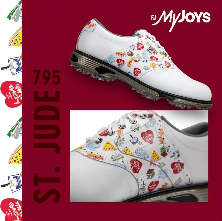 FootJoy partners with FedEx to celebrate St Jude Children's artwork