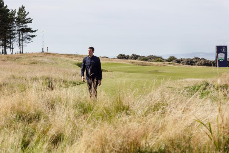 Grey Pocket boss talks Renaissance Club, Scottish Open and cack-handed golf