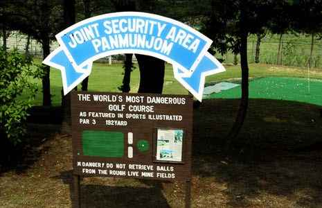 The world's most dangerous golf course