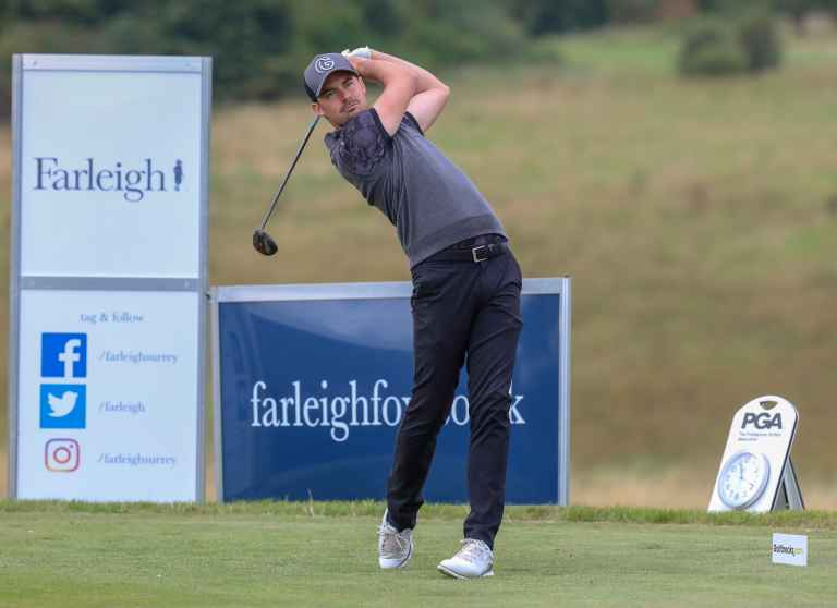 """Fantastic"" Farleigh hailed as duo defend PGA Fourball title"