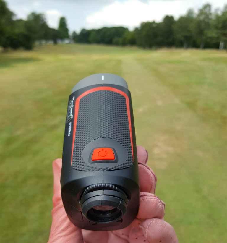 Bushnell Hybrid laser rangefinder and GPS review