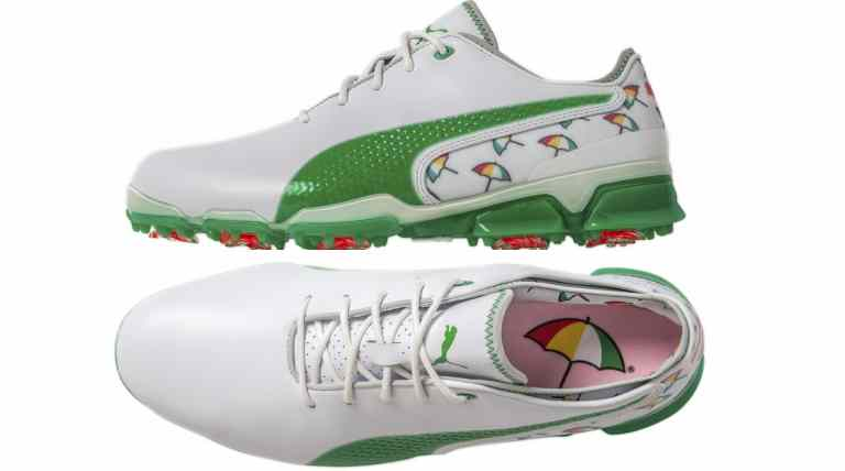 Rickie Fowler Arnold Palmer shoes