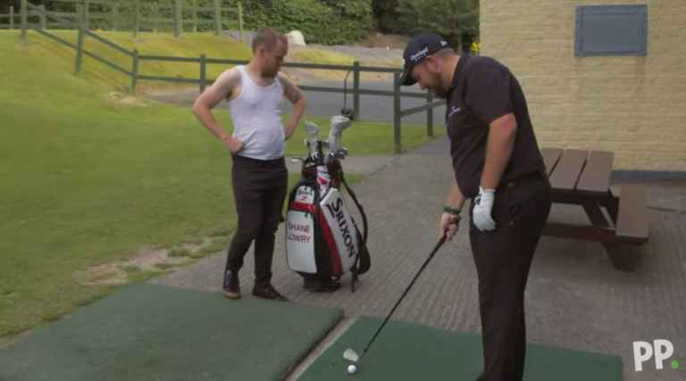 Shane Lowry in hilarious Paddy Power video