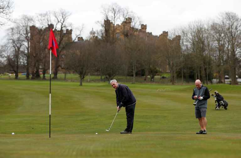 Coronavirus golf guidelines improving pace of play