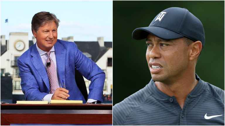 "Brandel Chamblee compares Tiger Woods to ""wet grocery bag"""