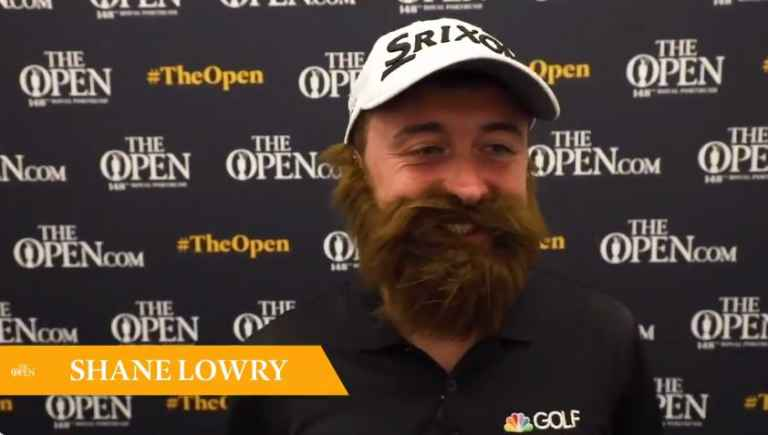Conor Sketches new Shane Lowry impression