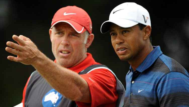 Steve Williams & Tiger Woods