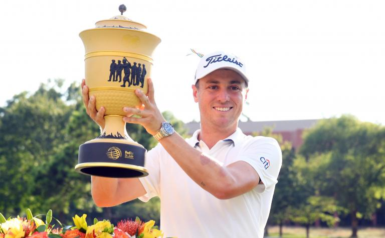 Justin Thomas: What's in the bag 2020