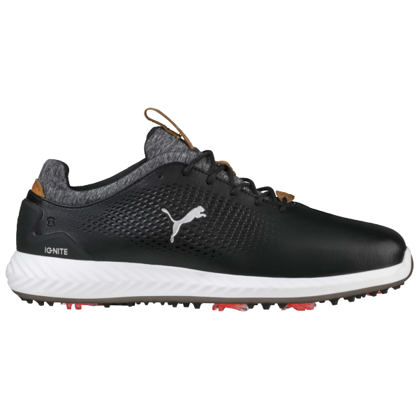 Puma launch IGNITE PWRADAPT golf shoes with three-dimensional cleats