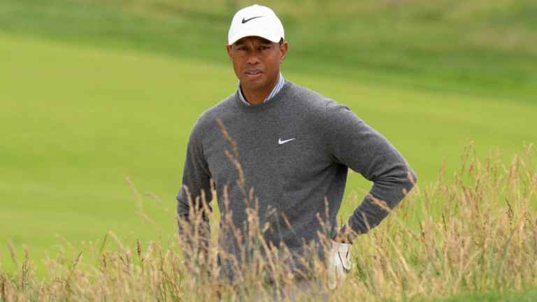 Tiger Woods admits his injury problems at the Open