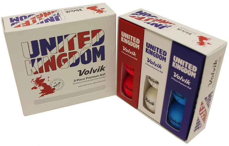 Top-selling Volvik golf balls go Patriotic