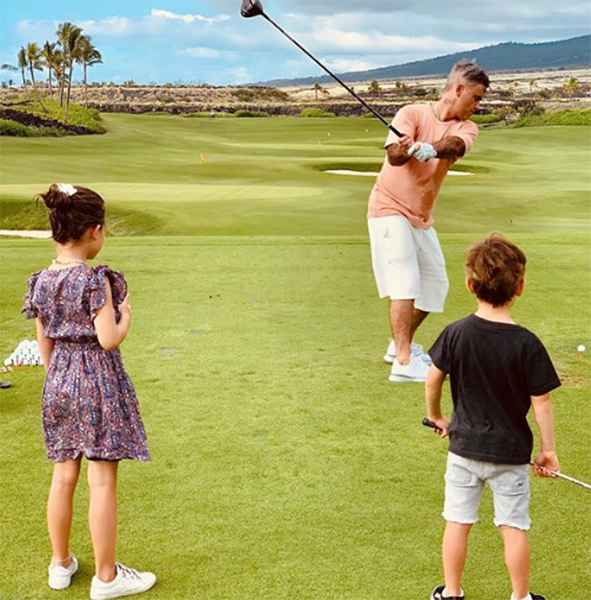 """Robbie Williams: """"Golf is the new crack"""""""