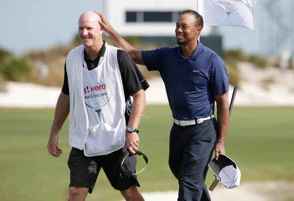 Tiger Woods' caddie Joe LaCava inducted into Caddie Hall of Fame