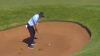 JB Hansen SHANKS bunker shot, but it ends up being INCREDIBLE!
