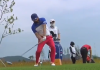 WATCH: Hosung Choi WHIFFS driver on final hole!