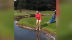 WATCH: Golfer has an absolute mare in the water