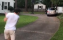 Golfer attempts Happy Gilmore shot, ends up smashing car window