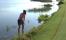 WATCH: Anne Van Dam plays UNREAL SHOT from out the water in LPGA season finalel