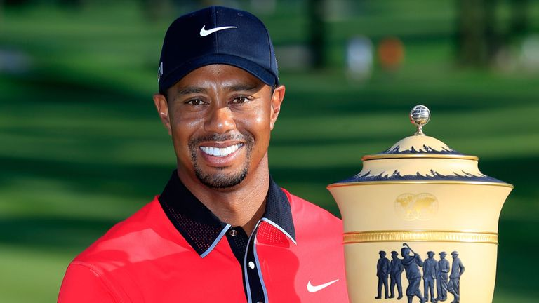 Tiger Woods at Firestone: money earned per shot, per hole, per round