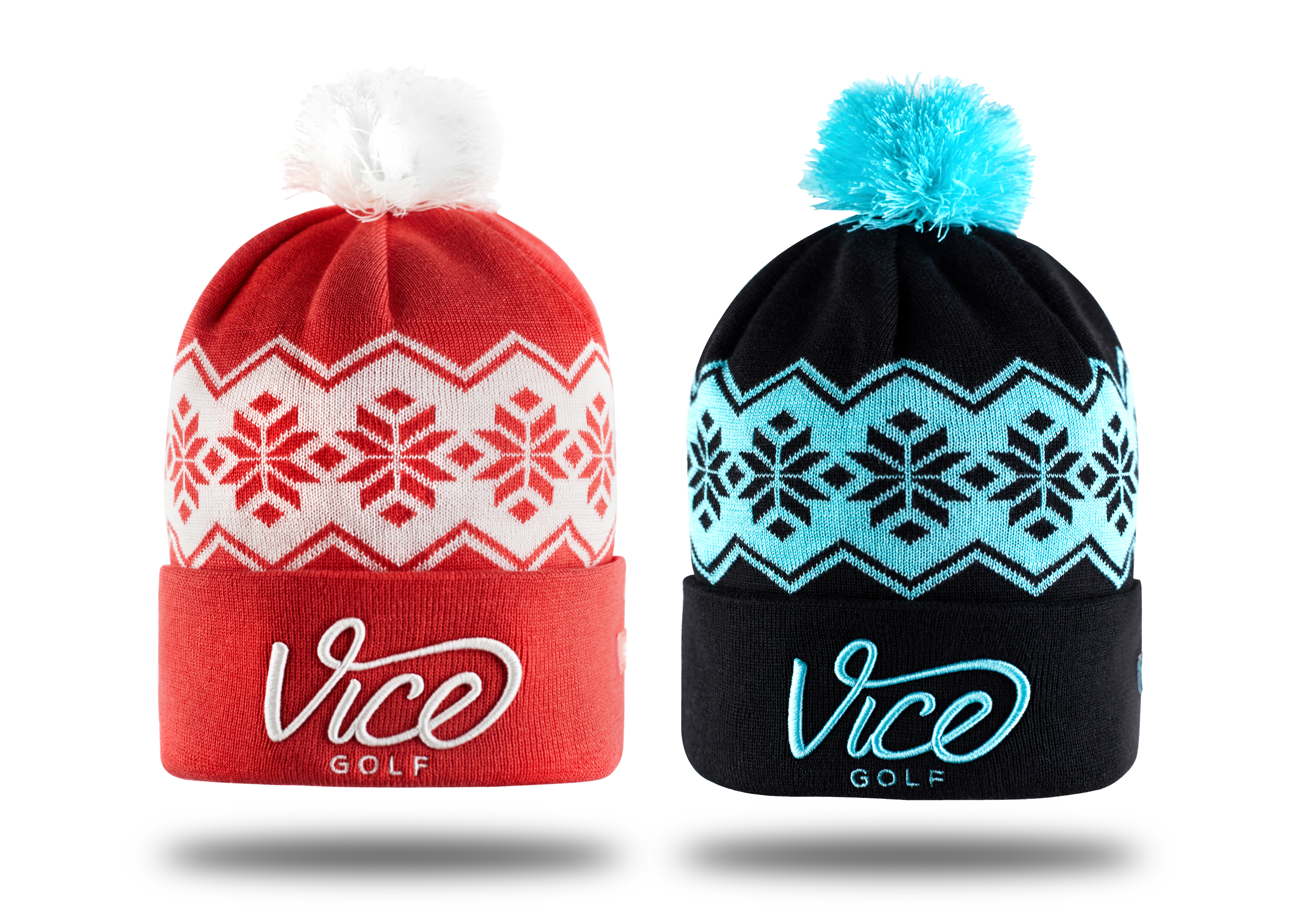 VICE Golf launches awesome Winter Beanies
