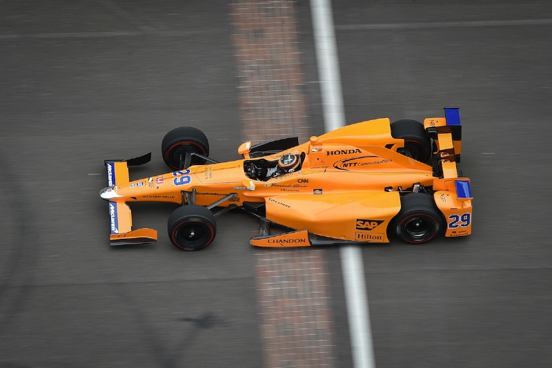 Alonso IndyCar test