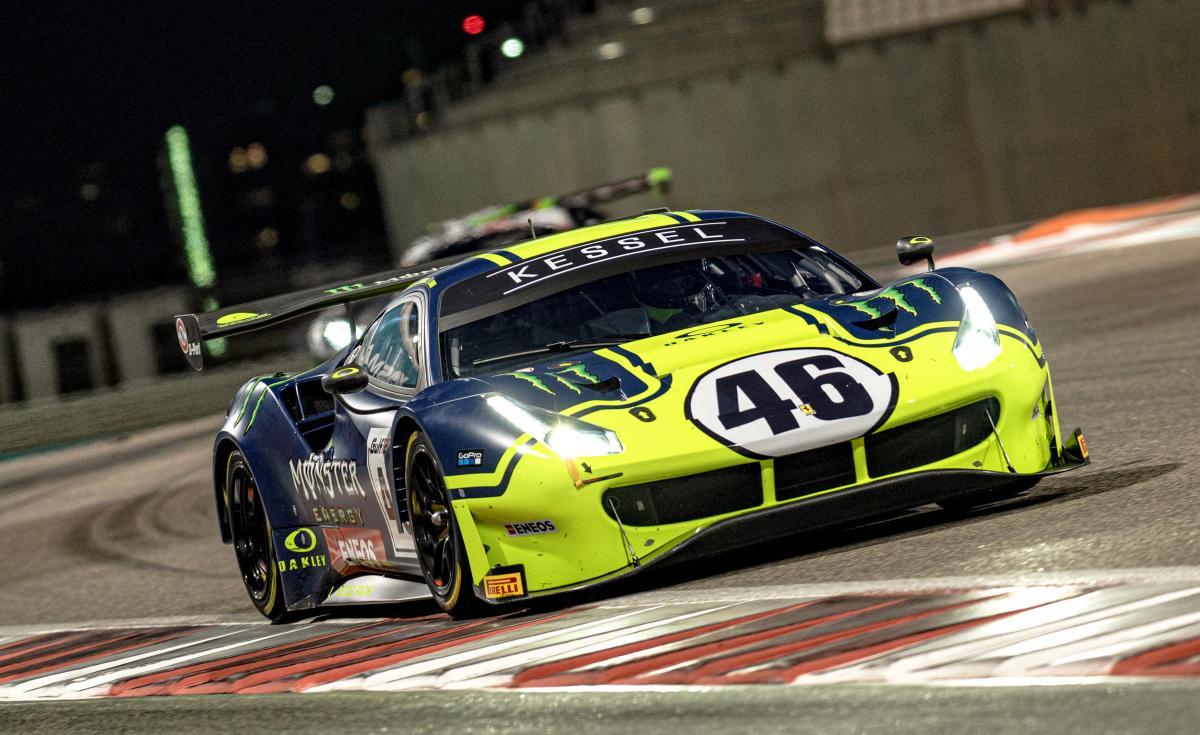 Rossi, Marini, Salucci qualify seventh at Gulf 12 Hours