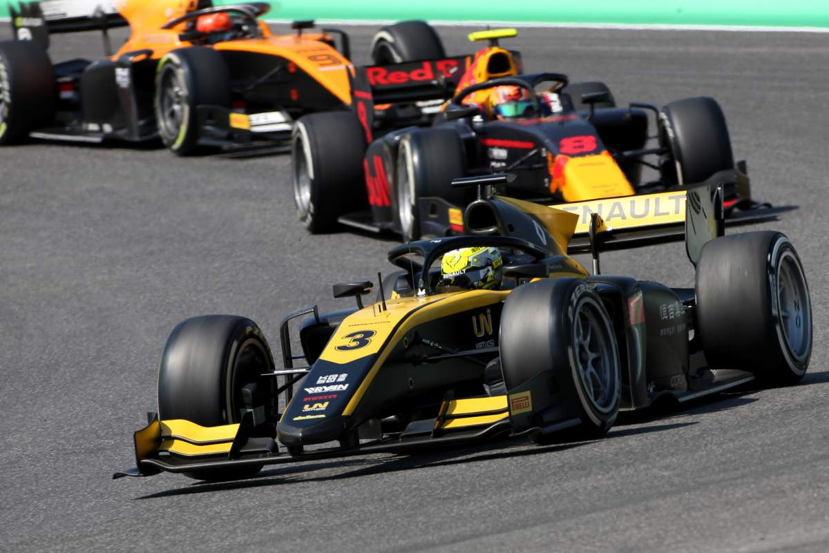 Fia F2 Tuscany Qualifying Results
