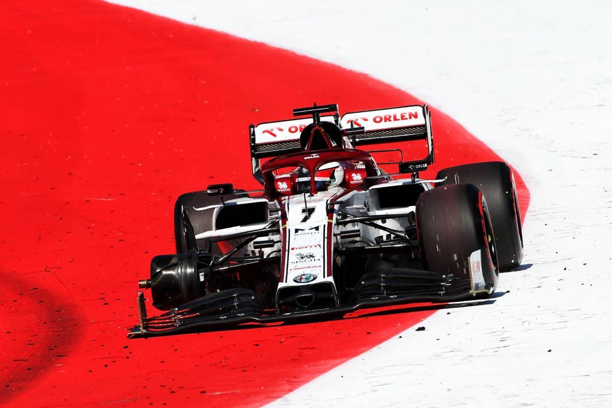 Kimi Raikkonen Rues Missed F1 Points In Odd Wheel Shredding Incident F1 News