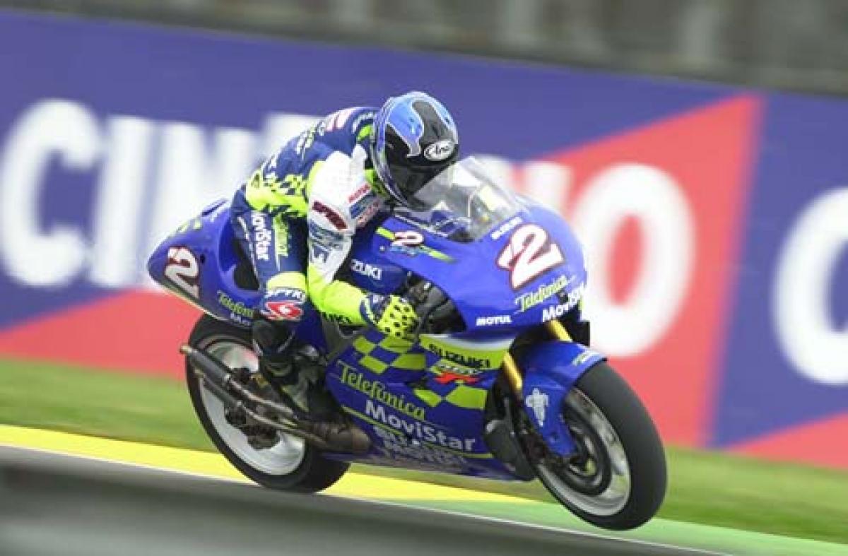 Kenny Roberts Jr: World Champion.   MotoGP   News   Crash