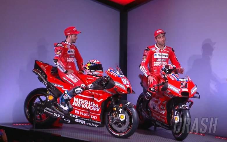 MotoGP: FIRST LOOK: 2019 'Mission Winnow' Ducati